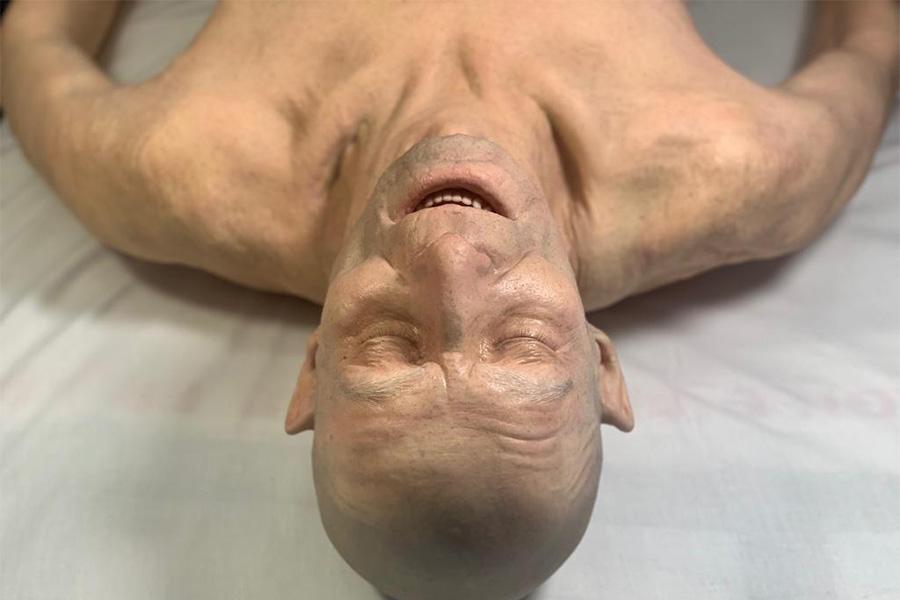Lifecast Senior Male simulation manikin